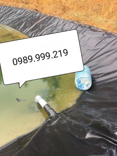 Bạt Nhựa Lót Ao Tôm hdpe 0.3mm 0.5mm khổ 6mx50m0