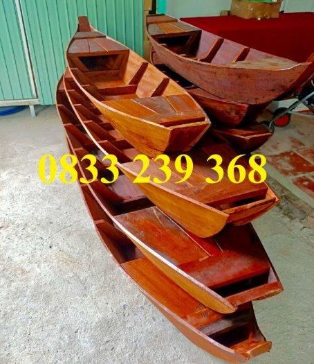 Thuyền gỗ trưng hải sản, Thuyền gỗ 2m, 2m5, 3m, Xuồng gỗ 4m, 5m1