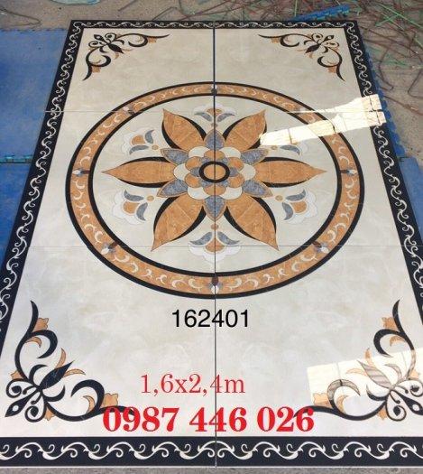 Gạch thảm sàn trang trí phòng khách HP12324