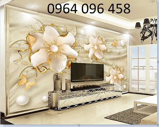Tranh gạch ốp tường 3d phòng khách đẹp - CNN669