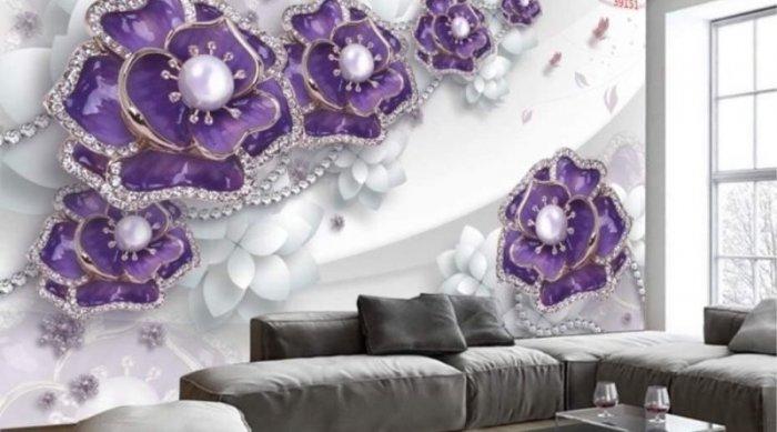 Tranh gạch ốp tường 3d phòng khách đẹp - CNN666