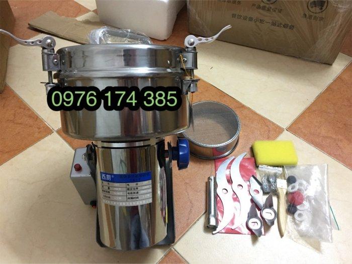 Máy nghiền bột trầm 2500G siêu mịn, inox 100%2