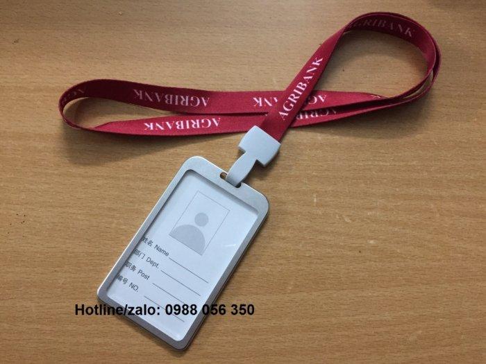 Dây Đeo Thẻ In Ấn Logo Thương Hiệu Công Ty Giá Rẻ.2