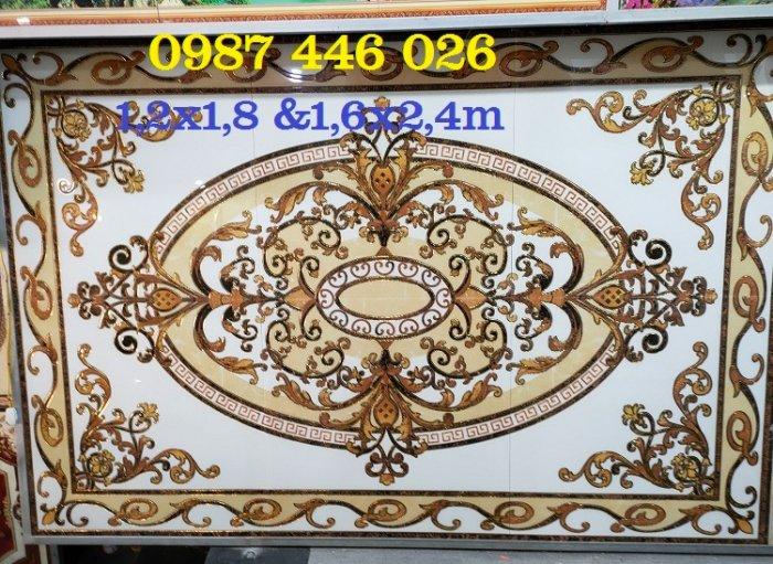 Gạch thảm sàn, gạch phòng khách trang trí đẹp 3d HP24814
