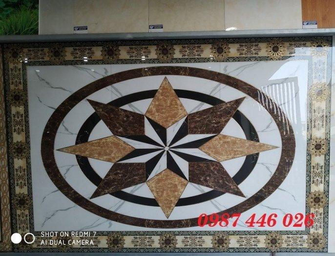 Gạch thảm sàn, gạch phòng khách trang trí đẹp 3d HP24811