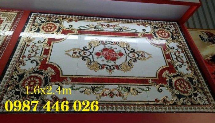 Gạch thảm sàn, gạch phòng khách trang trí đẹp 3d HP2486