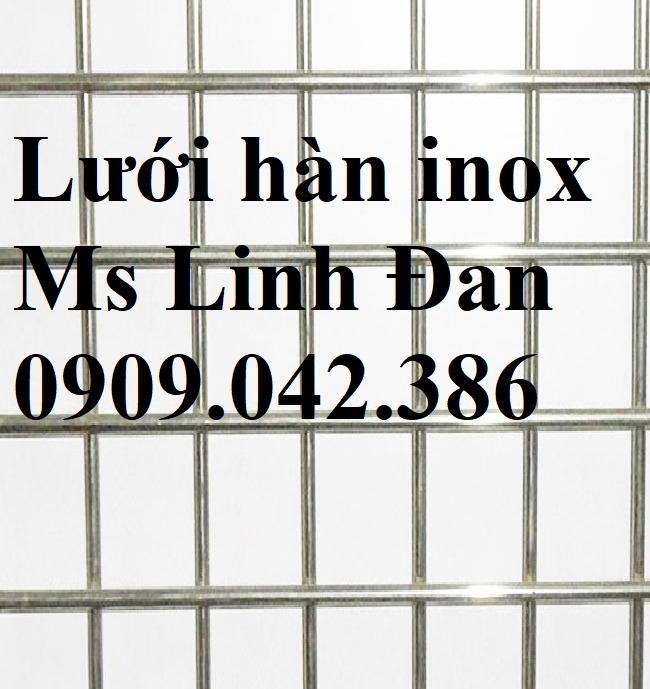 Chuyên cung cấp lưới hàn inox, lưới inox hàn, lưới hàn không gỉ, lưới hàn inox chử nhật,10
