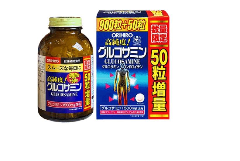 Viên uống Glucosamine Orihiro 1500mg0