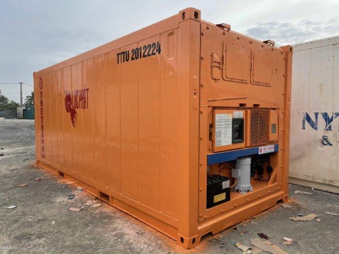 Container làm kho lạnh2