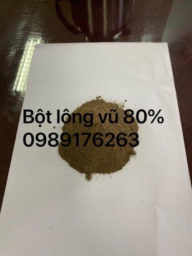 Bột lông vũ 80%0