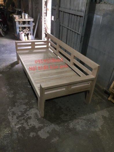 Ghế sofa giường kéo đa năng, bộ giường ghế gấp thông minh gỗ tự nhiên giá rẻ13