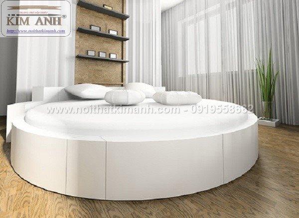 Giường tròn ngọc trinh, mẫu giường tròn cho bé gái sang chảnh sành điệu15