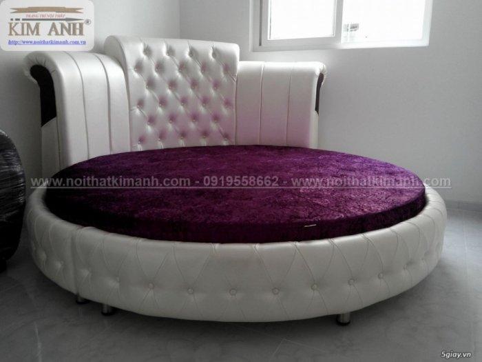 Giường tròn ngọc trinh, mẫu giường tròn cho bé gái sang chảnh sành điệu10