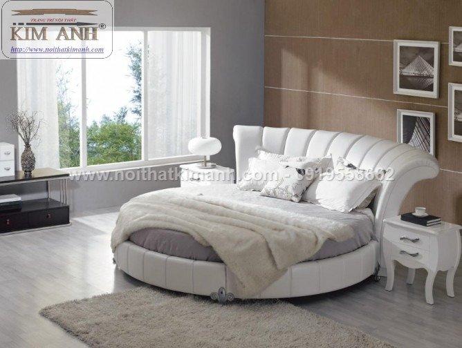 Giường tròn ngọc trinh, mẫu giường tròn cho bé gái sang chảnh sành điệu8