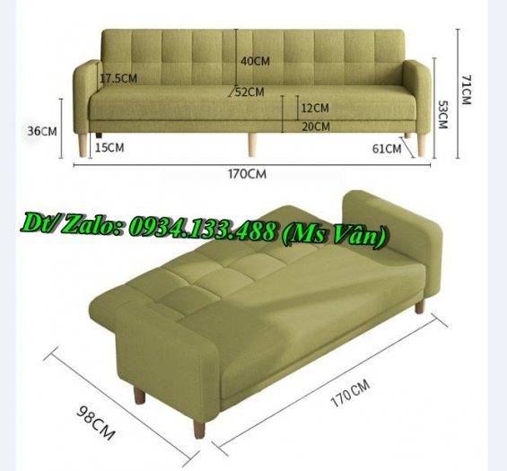 Top 10 mẫu sofa giường đẹp đa năng giá rẻ nhất hiện nay3