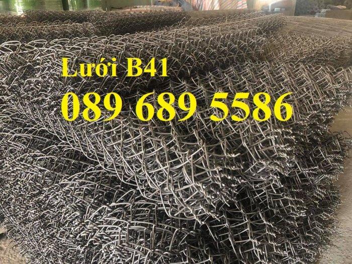 Bán lưới B40 mạ kẽm, Lưới B40 bọc nhựa khổ 2m, 2,2m, 2,4m giá tốt0