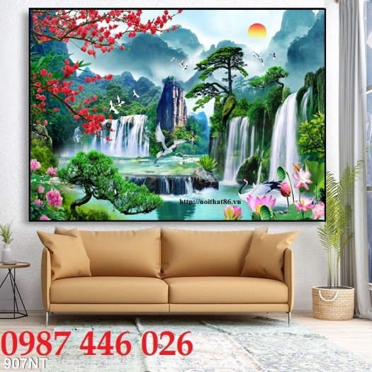 Tranh 3d, gạch trang trí, tranh ốp tường trên gạch  HP285710
