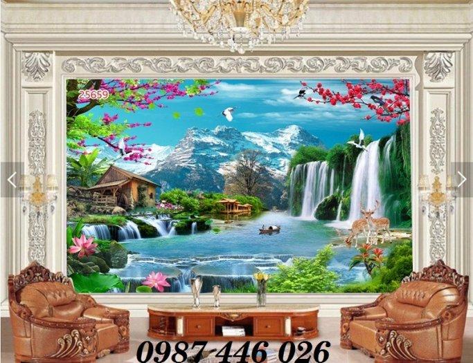 Tranh 3d, gạch trang trí, tranh ốp tường trên gạch  HP28575