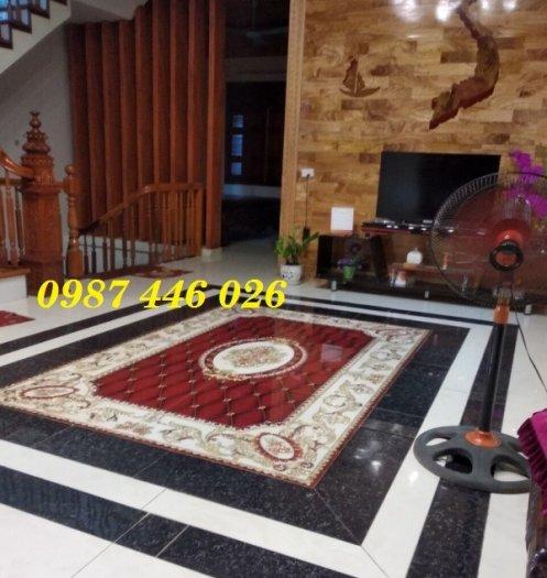Gạch thảm sàn nhà trang trí đẹp hoa văn HP510517