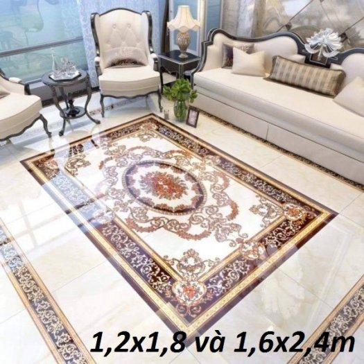 Gạch thảm sàn nhà trang trí đẹp hoa văn HP510516