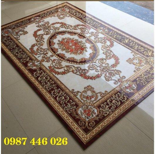 Gạch thảm sàn nhà trang trí đẹp hoa văn HP510515