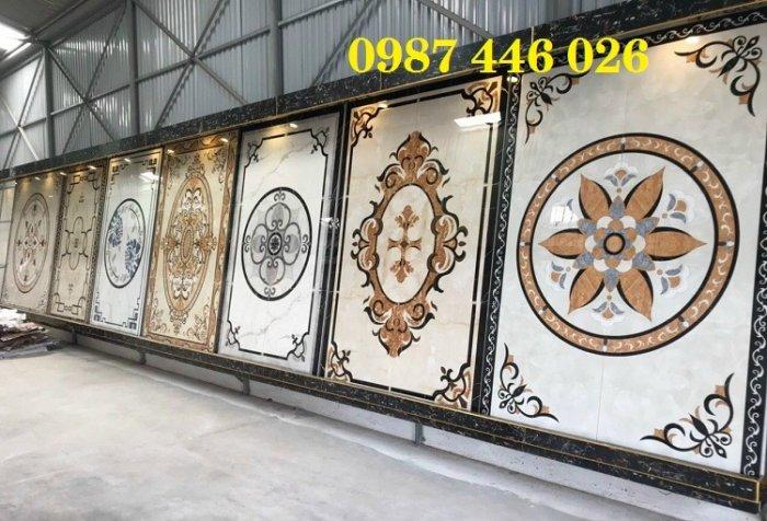 Gạch thảm sàn nhà trang trí đẹp hoa văn HP510512