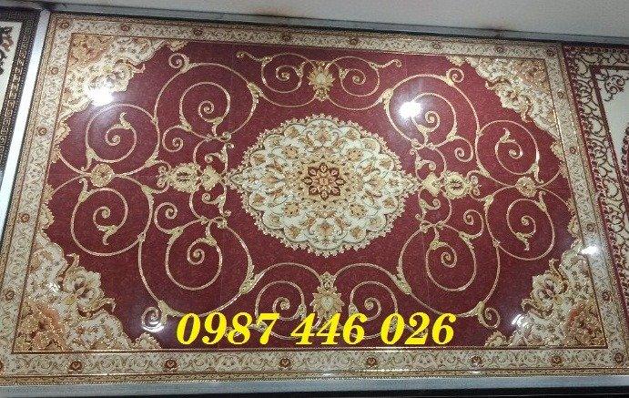 Gạch thảm sàn nhà trang trí đẹp hoa văn HP510511