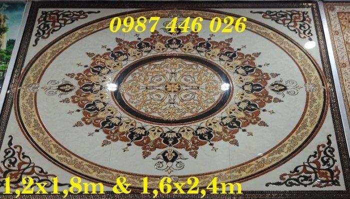 Gạch thảm sàn nhà trang trí đẹp hoa văn HP510510