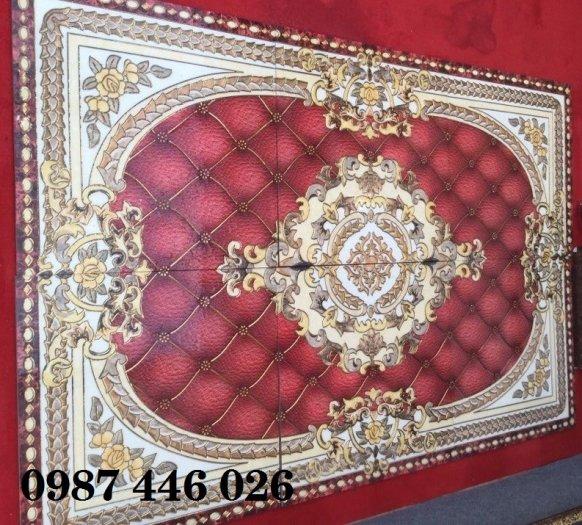 Gạch thảm sàn nhà trang trí đẹp hoa văn HP51059