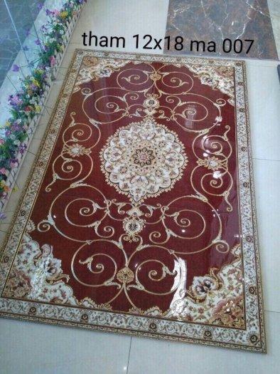 Gạch thảm sàn nhà trang trí đẹp hoa văn HP51058