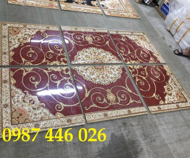 Gạch thảm sàn nhà trang trí đẹp hoa văn HP51055