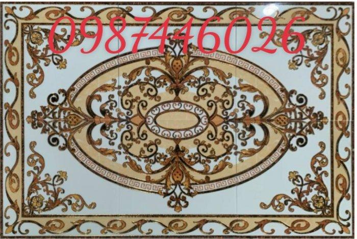 Gạch thảm sàn nhà trang trí đẹp hoa văn HP51053