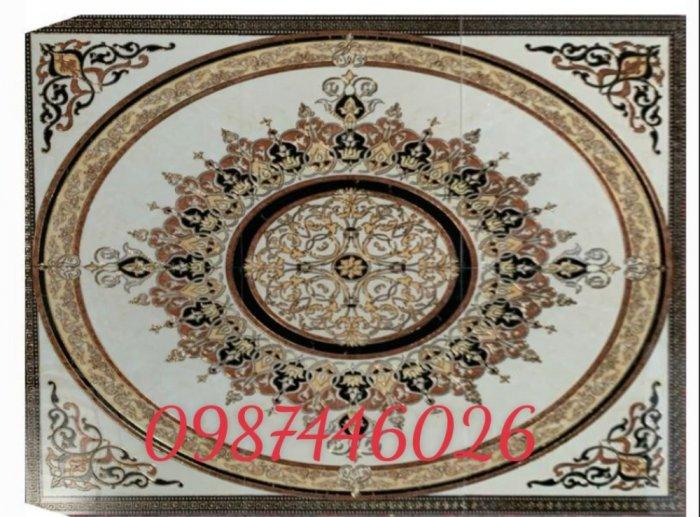Gạch thảm sàn nhà trang trí đẹp hoa văn HP51052