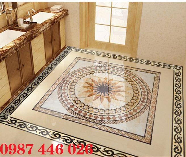 Gạch thảm chiếu nghỉ trang trí phòng khách đẹp HP017510