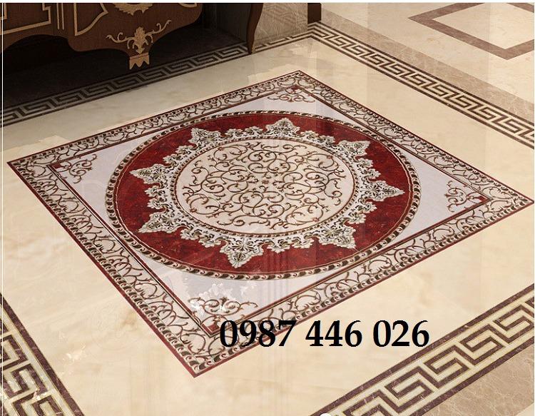 Gạch thảm chiếu nghỉ trang trí phòng khách đẹp HP01759