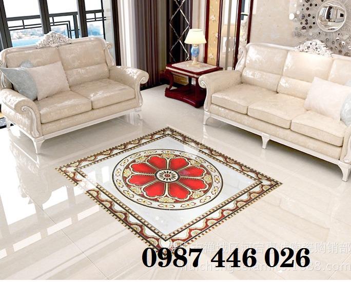 Gạch thảm chiếu nghỉ trang trí phòng khách đẹp HP01758