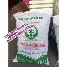 Bao đựng phân trùng quế, đất sạch hữu cơ, phân bón2