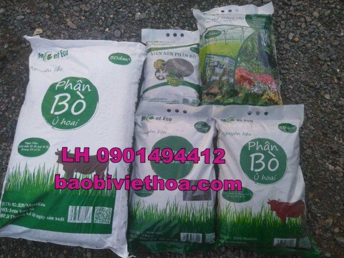 Bao đựng phân trùng quế, đất sạch hữu cơ, phân bón1