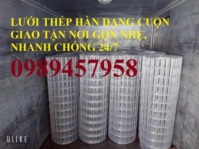 Lưới thép hàn A6, A8, A9, A10 - Lưới hàn chập phi 6, phi 8 và phi 10 a 200x2001