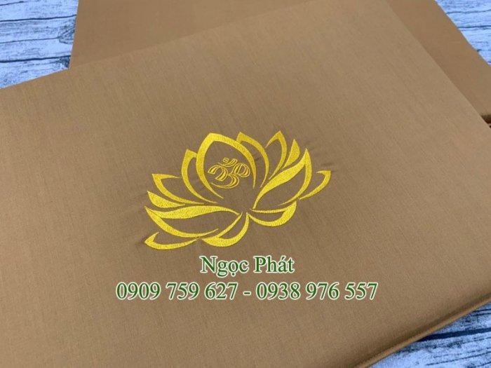 Nệm Ngồi 60x40x5cm - Nệm Ngồi Quỳ Lạy Lễ Phật - NGỌC PHÁT3