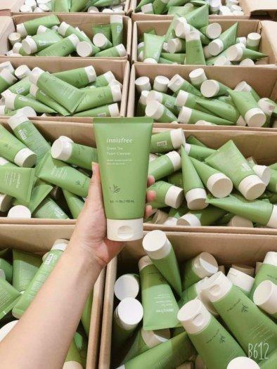Sữa Rửa Mặt Trà Xanh Innisfree Green Tea Cleansing Foam0