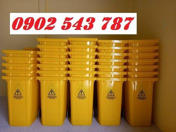 Thanh lý thùng rác y tế đựng rác thải chứa Sars CoV25