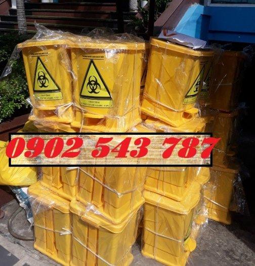 Thanh lý thùng rác y tế đựng rác thải chứa Sars CoV24