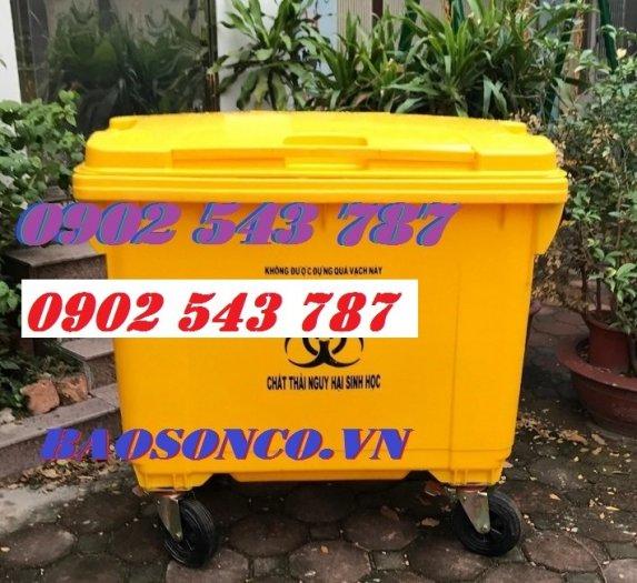 Thanh lý thùng rác y tế đựng rác thải chứa Sars CoV20