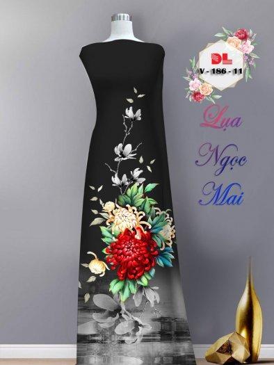 Vải áo dài lụa ngọc mai cao cấp V 18610