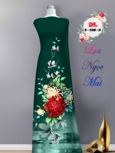 Vải áo dài lụa ngọc mai cao cấp V 1867