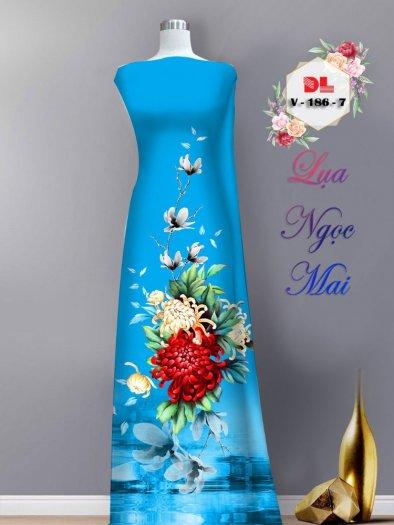 Vải áo dài lụa ngọc mai cao cấp V 1863