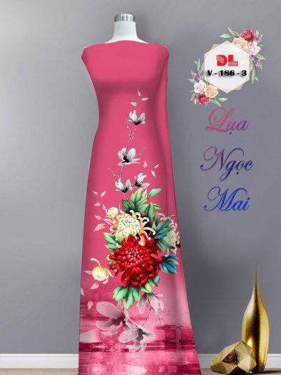 Vải áo dài lụa ngọc mai cao cấp V 1861