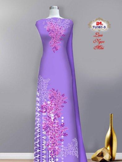 Vải áo dài lụa ngọc mai cao cấp TU 161 của Vải Áo Dài Kim Ngọc10