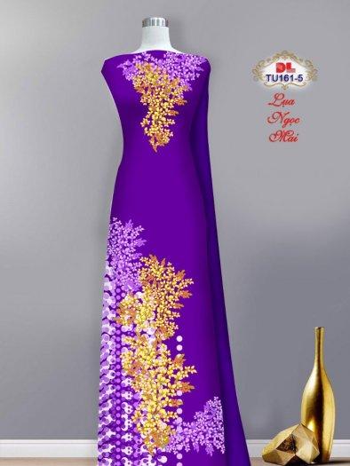Vải áo dài lụa ngọc mai cao cấp TU 161 của Vải Áo Dài Kim Ngọc9